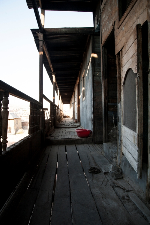 El deterioro no ha logrado eliminar la belleza de la casa