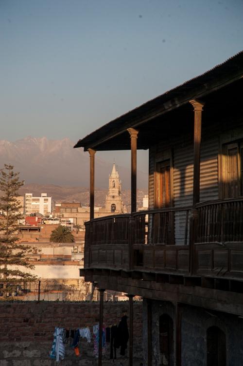 Balcón y vista única