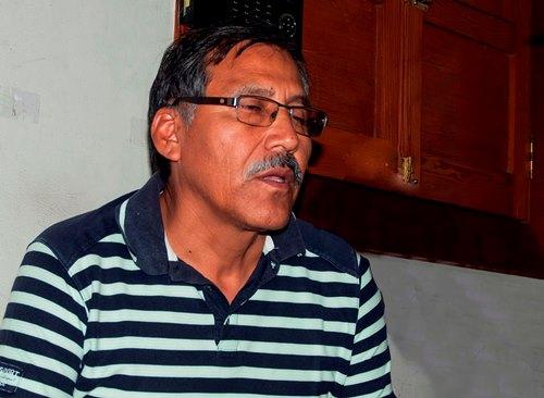 Helard Valencia, alcalde de Cocachacra
