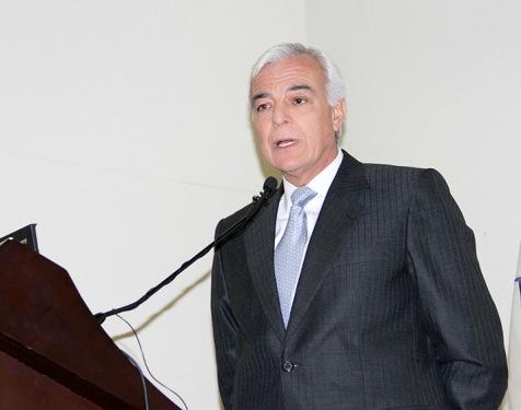 Presidente de la Sociedad Nacional de Minería, Petróleo y Energía, Carlos Gálvez Pinillos