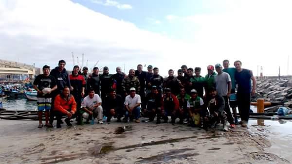 Foto grupal, fin del campeonato