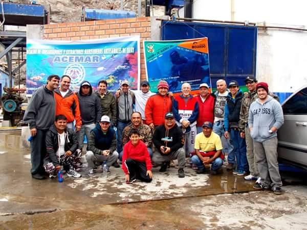 Foto grupal, segundo día