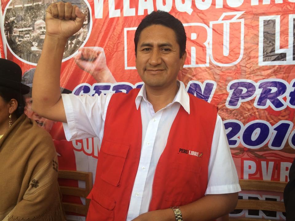 Candidato presidencial por Perú Libre, Vladimir Cerrón Rojas.