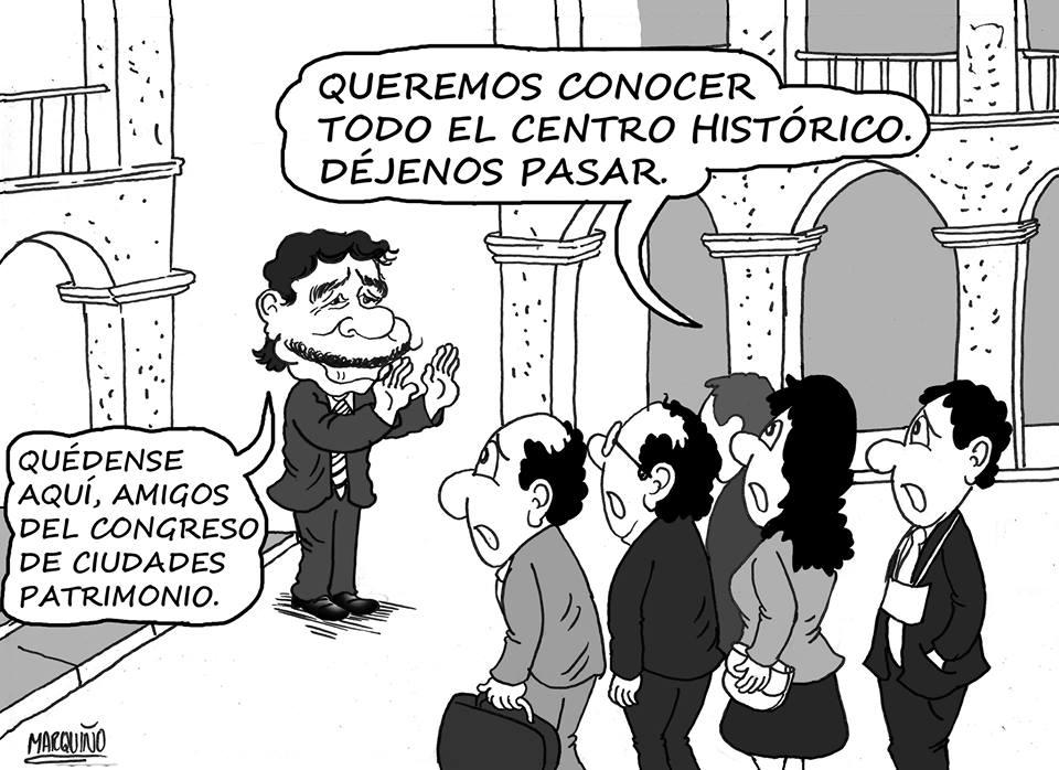 caricatura zegarra encuentro
