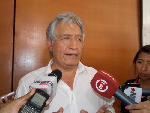 Presidente de la Comisión Especial Encargada de la Supervisión, Fiscalización por el Niño, Virgilio Acuña Peralta