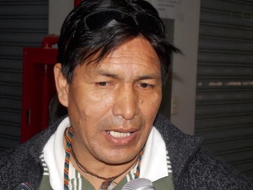 Luis Lipe, presidente de la asociación galerías Asia Arequipa