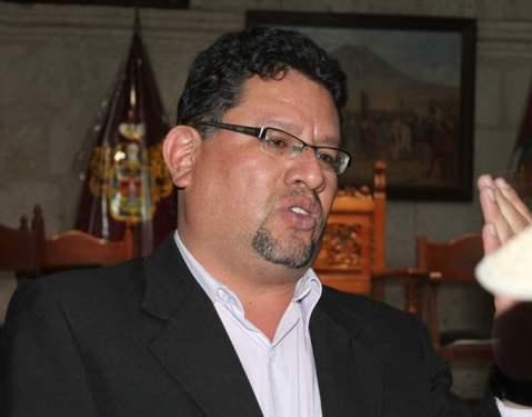 Gerente regional de Agricultura, Mirko Avendaño