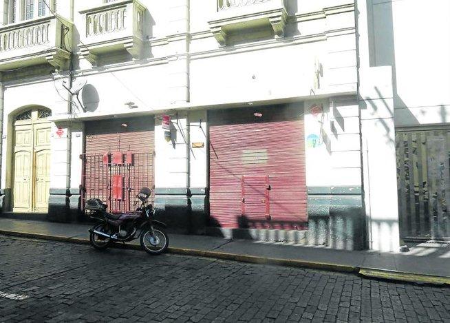 Centro Comercial donde se realizó el asalto
