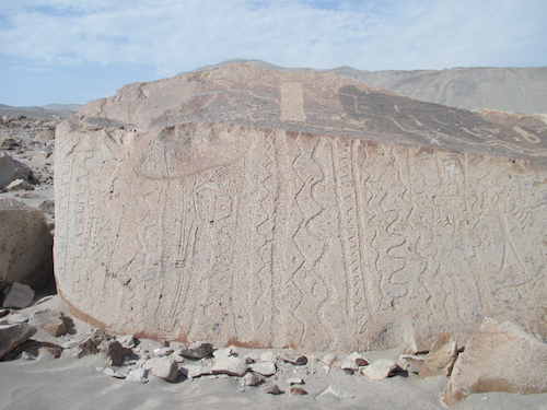 petroglifos Toro Muerto