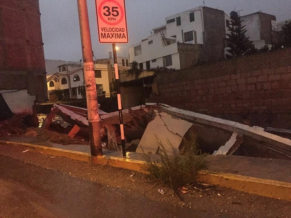 lluvias en Arequipa
