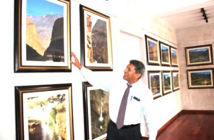 James Posso Sánchez presentó su V Exposición Fotográfica en homenaje al Cañón de Cotahuasi