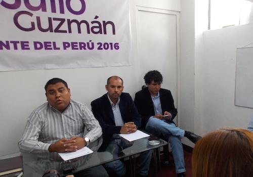 julio Guzmán partidarios