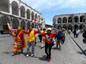 Caminarán hasta Lima para exigir la libertad del candidato presidencial Gregorio Santos