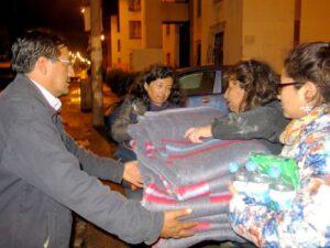 Municipio Provincial coordina con distritos ayuda a damnificados por lluvias