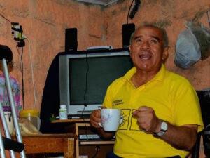 Gustavo Rondón fuera de carrera por retiro del partido Solidaridad Nacional de contienda