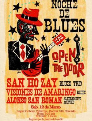 Noche de Blues en el Gebrau