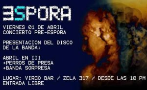 Vuelve el Festival Espora 4ta Edición, en abril