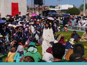 FOTOS: Doce mil espectadores en escenificación de Vía Crucis en Paucarpata