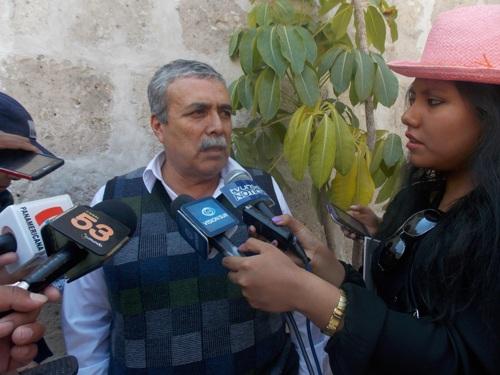 Jefe del IMPLA, Francisco Ampuero