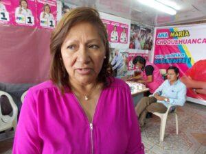 VIDEO. Ana María Choquehuanca afirma que Pedro Pablo Kuczysnki no entregó dádivas