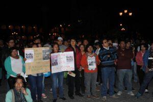 VIDEO. Marcha contra la candidatura de Keiko Fujimori se realizó en Arequipa