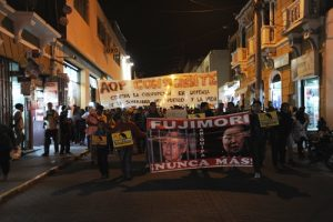 VIDEO. Segunda marcha contra la candidatura de Keiko Fujimori en Arequipa