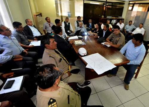 Reunión de autoridades regionales y locales