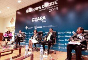 Realizan primer debate de candidatos al Congreso por Arequipa