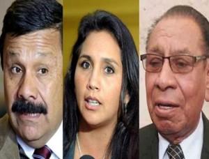 Tomas Zamudio, Ana María Solórzano, y Justiniano Apaza no podrán volver al Congreso