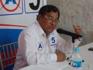 A pesar de retiro de candidatura de Cesar Acuña, Jorge Sumari continuará con campaña al Congreso