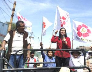 Verónika Mendoza presidirá mitin del Frente Amplio este miércoles en Arequipa