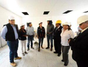 Aun continúa remodelación del colegio de alto rendimiento Teobaldo Paredes