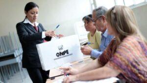 Estas son la multas que deberán pagar quienes no asistan a votar según la ONPE