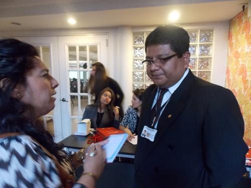 Gerente regional de Trabajo y Promoción del Empleo de Arequipa, Freddy Cahui Calisaya