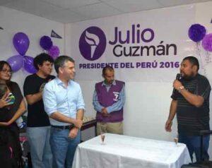 Julio Guzmán llega a Arequipa para liderar protestas contra autoridad electoral