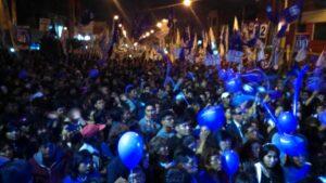 Por entrega de colchones en mitin, Guzmán culpa a dirigentes regionales