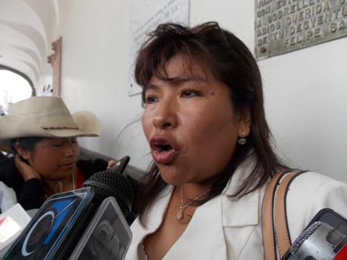 Alcaldesa de la Municipalidad Distrital de Islay, Regina Lavalle Sullasi