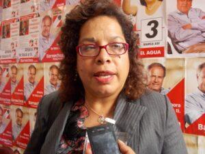 """JNE vuelve a habilitar a la candidata de """"Acción Popular"""", María Elena Guillén"""