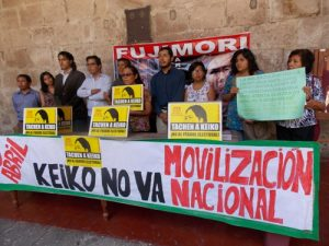 VIDEO. Colectivos de Arequipa anuncian marcha contra la candidata Keiko Fujimori