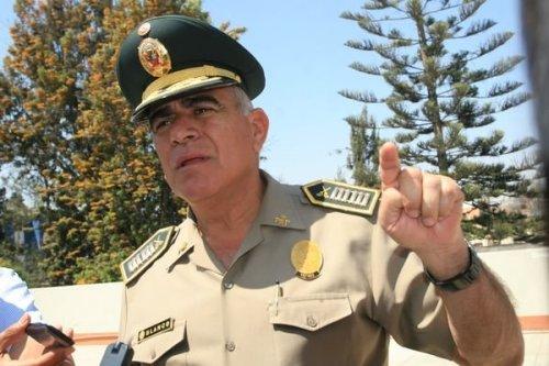 Jefe de la Región Policial de Arequipa, Gral. Enrique Blanco