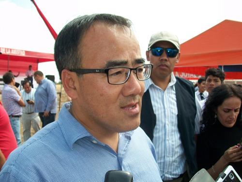 Ministro de Transportes y Comunicaciones, José Gallardo Ku.