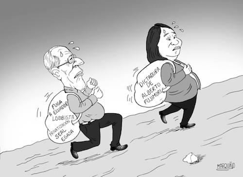 caricatura elecciones 2016