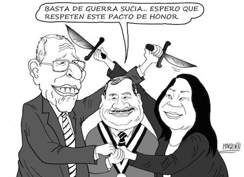 caricatura Marquiño