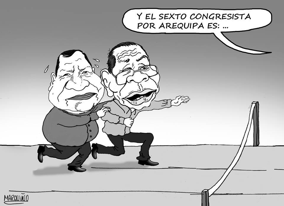 caricatura de Marquiño