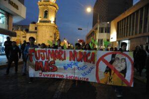 VIDEO y FOTOS. Multitudinaria marcha en Arequipa en rechazo a candidatura de Keiko Fujimori
