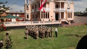 Escenifican operación militar de rescate de rehenes Chavín de Huantar en Arequipa