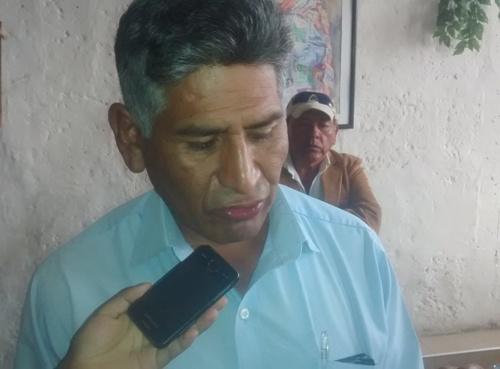 Presidente de la Asociación Virgen de Asunción, Juan Manrique Velarde.