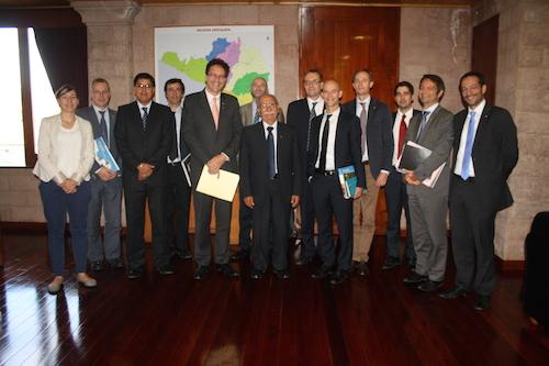 delegación francesa