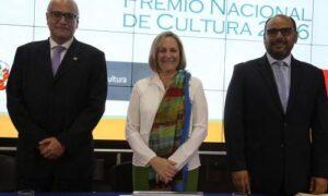 Presentan Premio Nacional de Cultura 2016