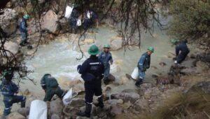 OEFA no descarta que relave de Buenaventura haya contaminado el río Molloco y Colca